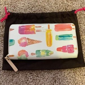 Kate spade popsicle accordion wallet